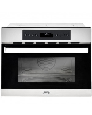 Belling BI45COMW Built In Combination Microwave, Stainless Steel