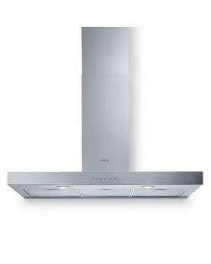 Elica LEDGE 90cm Chimney Cooker Hood, Stainless Steel