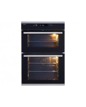 John Lewis JLBIDO932X Built-in Double Oven, A Rating, Stainless Steel