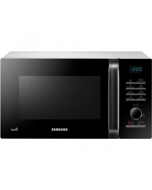 Samsung MS23H3125AW Solo Microwave, Black & White