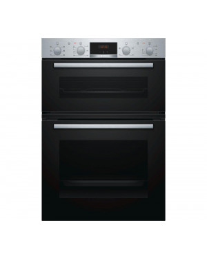 Bosch MBS133BR0B Built-In Double Oven, Stainless Steel
