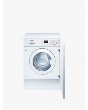 Bosch Serie 4 WKD28352GB Integrated Washer Dryer, 7kg/4kg Load, 1400rpm Spin, White