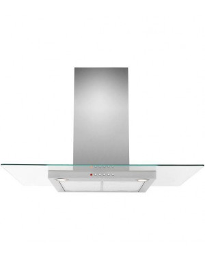 John Lewis JLHDA910 Chimney Cooker Hood, Stainless Steel