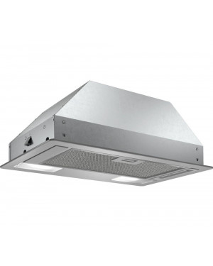 Bosch DLN53AA70B 53cm Canopy Cooker Hood, D Energy Rating, Stainless Steel